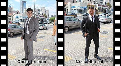 Tradicional Corte Italiano e Slim Fit